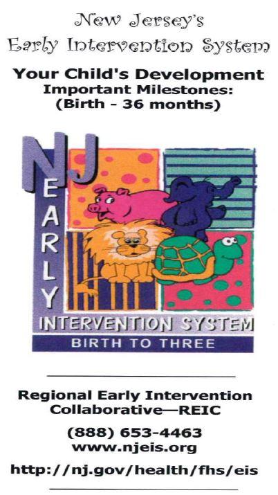 1 NJ Early Intervention System - Cape Atlantic ResourceNet
